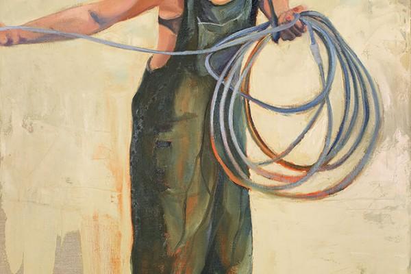 Fotografi af maleri af Niels Foltved