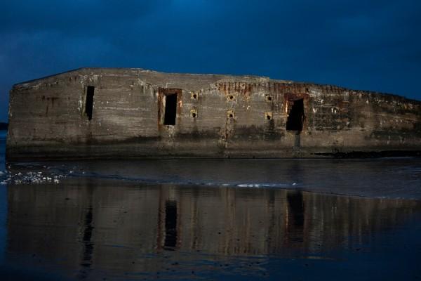 Bunker i mørke af Niels Foltved